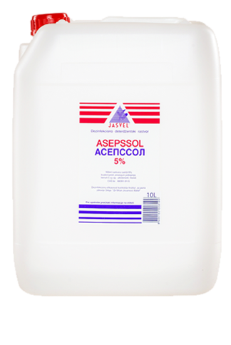 asepssol 5% 10l