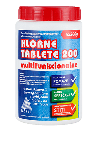 hlorne tablete 200 mtf