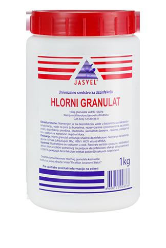 hlorni granulat 1kg